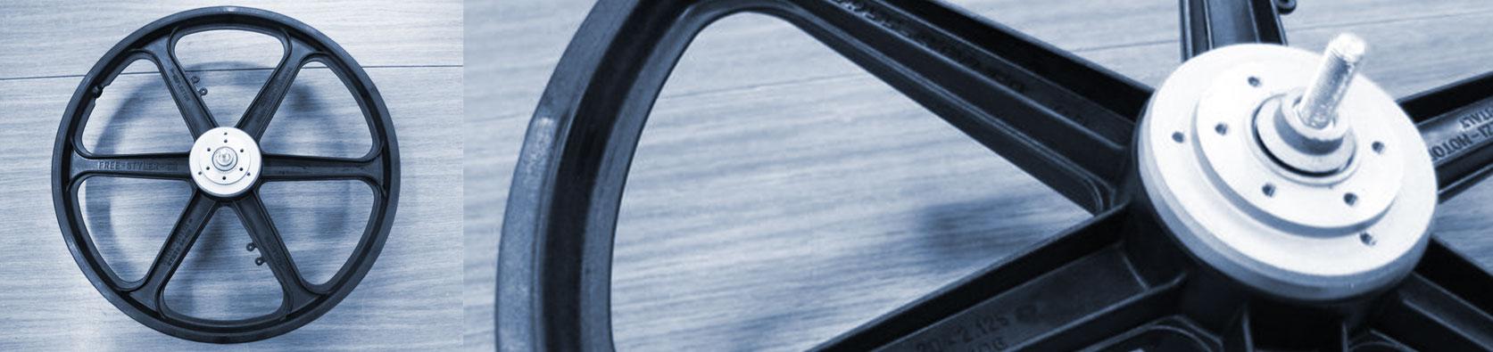 produzione ruote in tecnopolimero